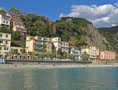 Monteresso al Mare on the Italian Riviera